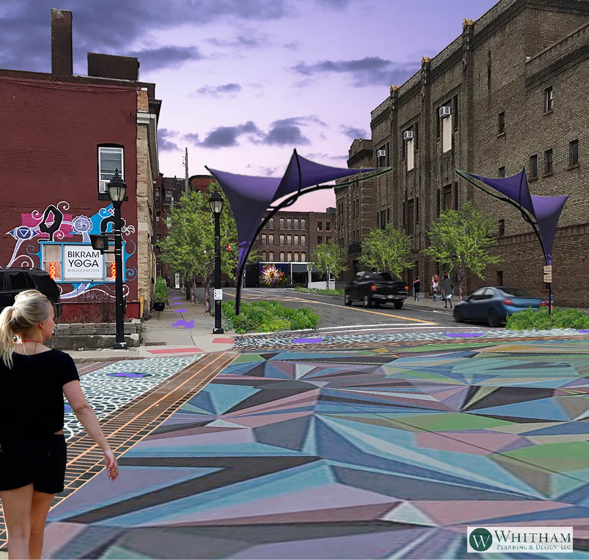 Binghamton DECO District |  Landscape Architecture • Planning