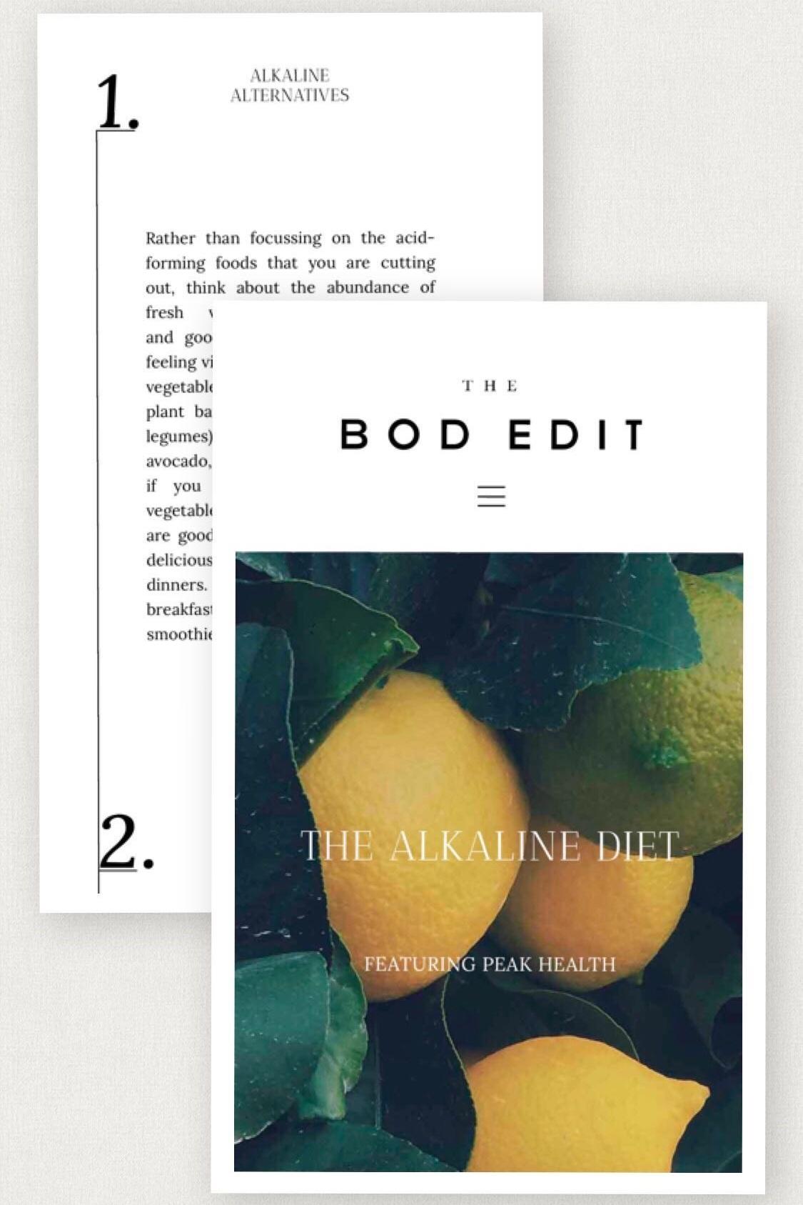 The Bod Edit
