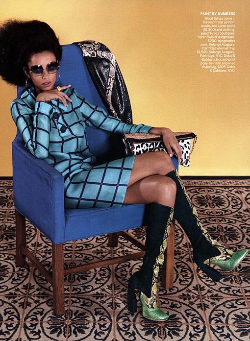 Vogue : Fall 2011 : Photographer : Raymond Meier