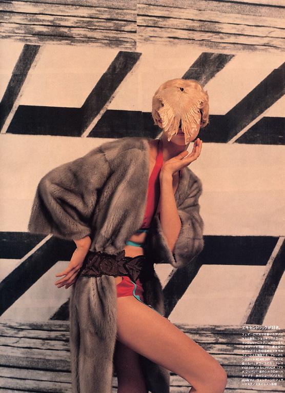 Vogue Nippon : 2003 : Photographer : Yelena Yemchuk