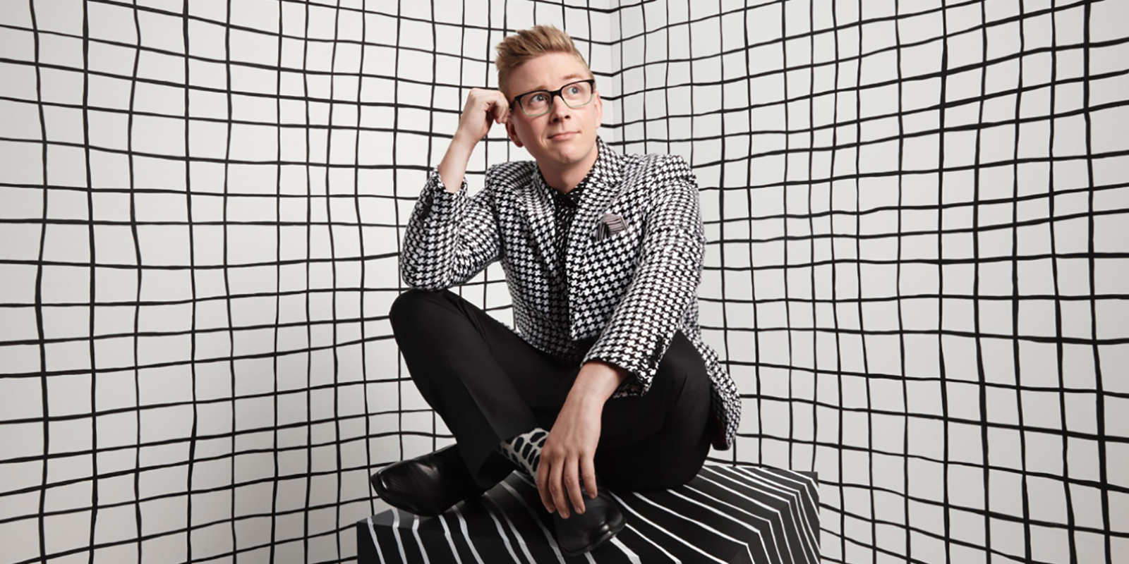 Warby Parker : Tyler Oakley : Photographer : Jake Chessum