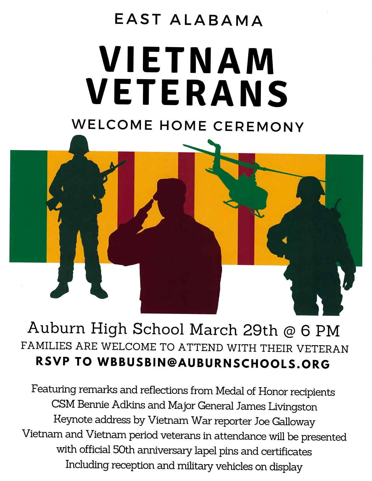 This event's thumbnail was obtained from the organizations Twitter feed   @auburnveterans