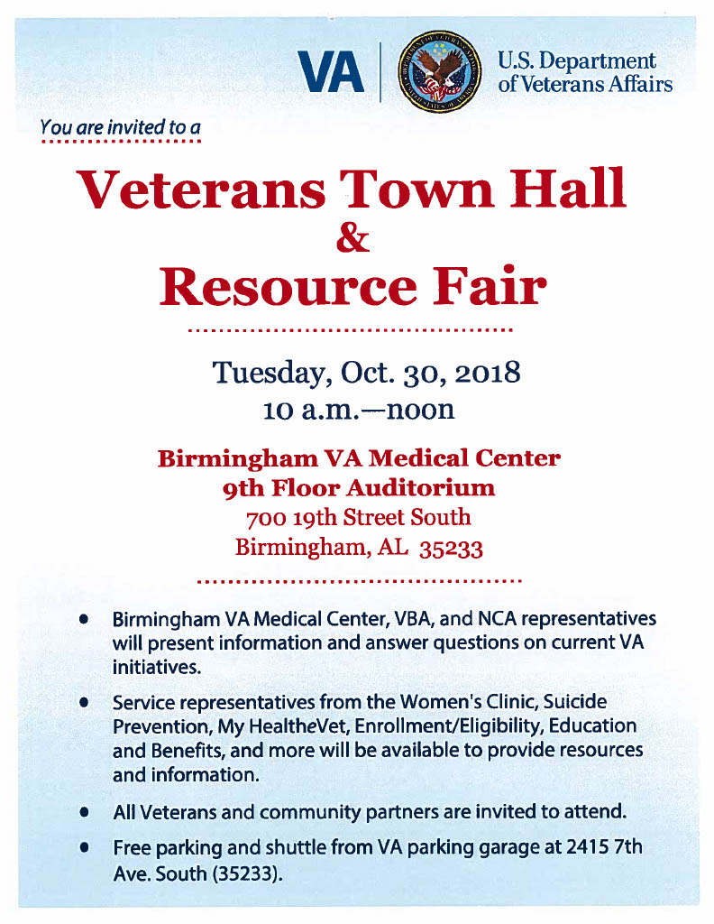 VA Town Hall Flyer