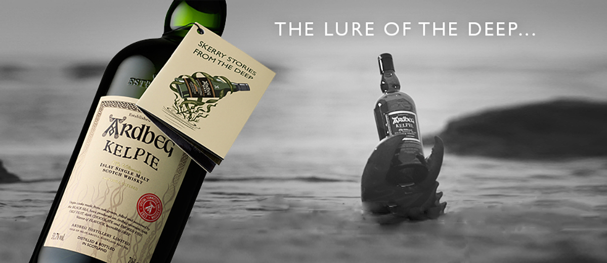 Ardbeg focuses heavily on its roots on the Isle of Islay - a remote part of Scotland - and the magic and mysticism that is part of their heritage.