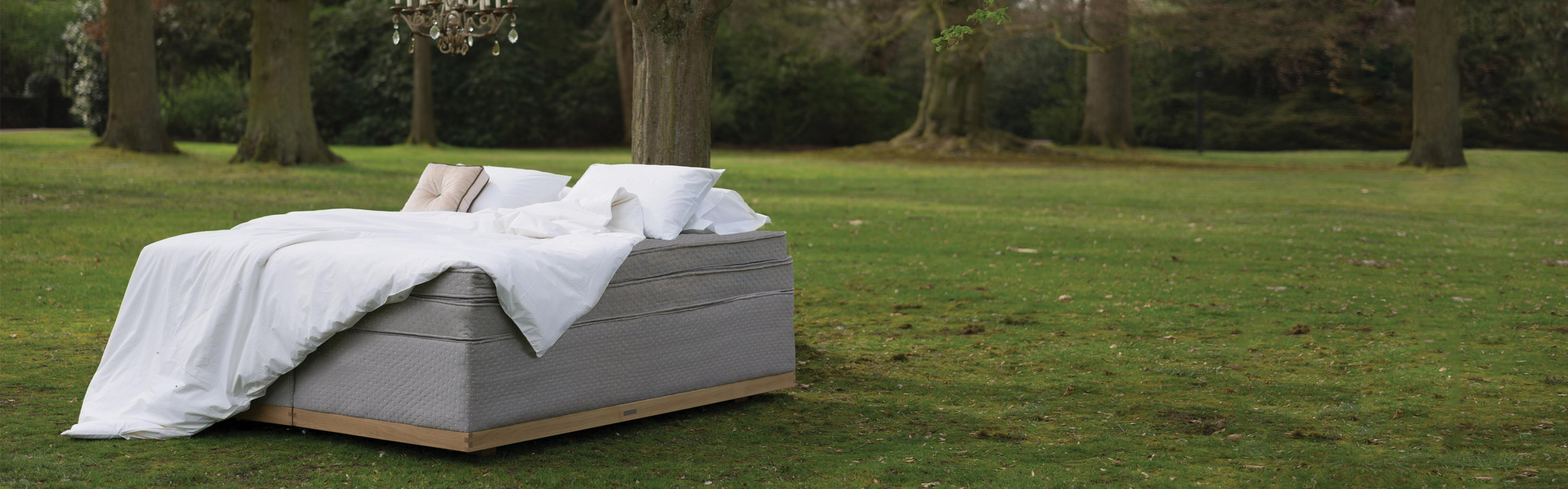 Cocomat's brand story talks about not just using natural materials but about bringing the positive energy of those materials to you to help you sleep.