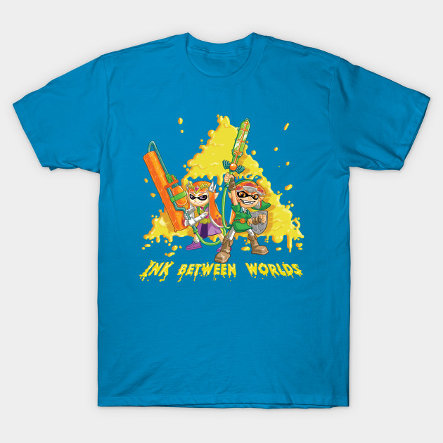 INK BETWEEN WORLDS     Link's a squid now, a kid now.  Apparel and products available on  Teepublic.  Even more apparel options at  NeatoShop  .