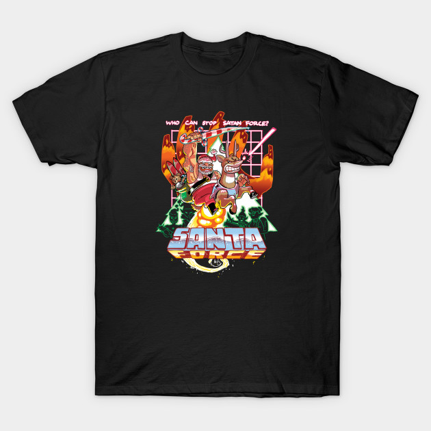 SANTA FORCE     Santa Force: The world's last defense against naughtiness.  Apparel and products available on Teepublic.