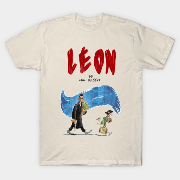 LEON THE PROFESSIONAL    The Professional as a kids book. Apparel and products available on Teepublic.