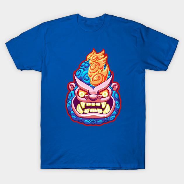 NIGHT GUARDIAN GORILLA    Based on the style of Chinese Guardian Lions and Dogs.  Apparel and products available on  Teepublic.