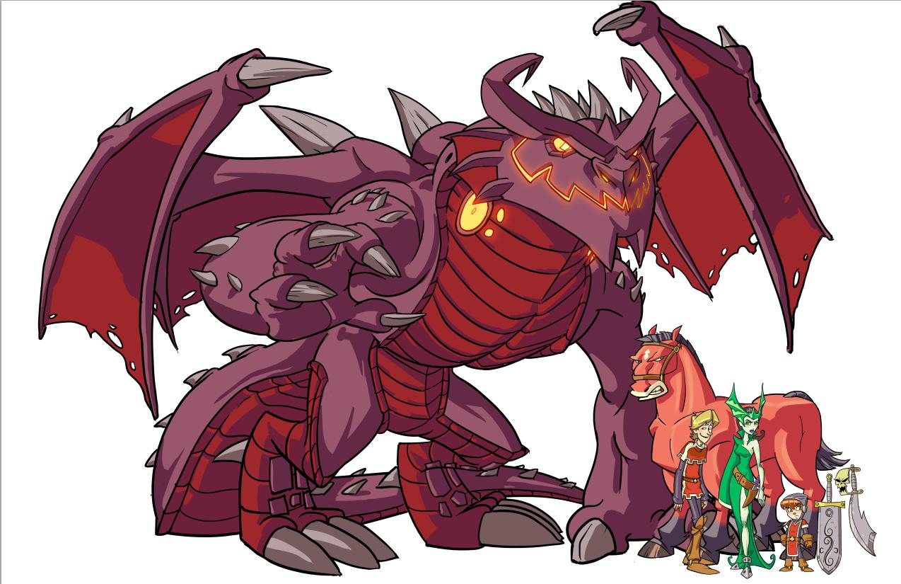 Little Knight Dragon