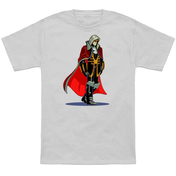 ALUCARD     Based on the classic Playstation sprite from Symphony of the Night.  Apparel and products available at  TeePublic.  Even more apparel options available at  NeatoShop  .