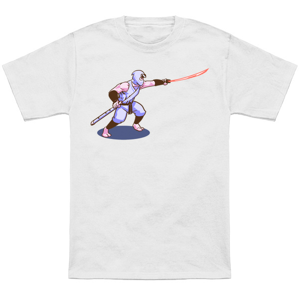 NINJA GAIDEN     Based on the sprite from the NES classic Ninja Gaiden.  Apparel and products available at  TeePublic.  Even more apparel options available at  NeatoShop  .