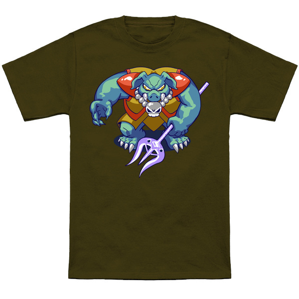 GANON     Based on the sprite from Link to the Past,fear the POWER of Ganon!  Forget the Dorf...Apparel and products available at  TeePublic.  Even more apparel options at  NeatoShop  .