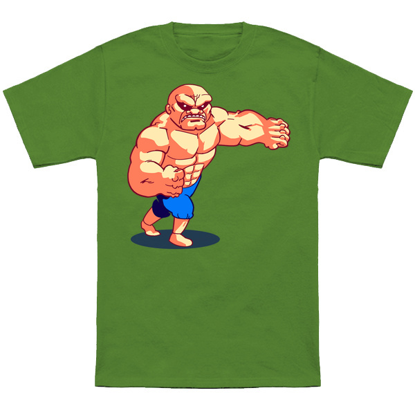 DOUBLE DRAGON ABOBO     Double Dragon level boss Abobo based off of his NES Sprite.  Apparel and products available at  TeePublic.  Even more apparel options at  NeatoShop  .