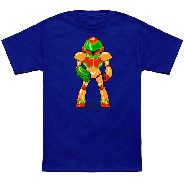 METROID SAMUS     It's Samus based on her in-game sprite from Metroid(NES).Apparel and products available at  TeePublic.  Even more apparel options at  NeatoShop  .