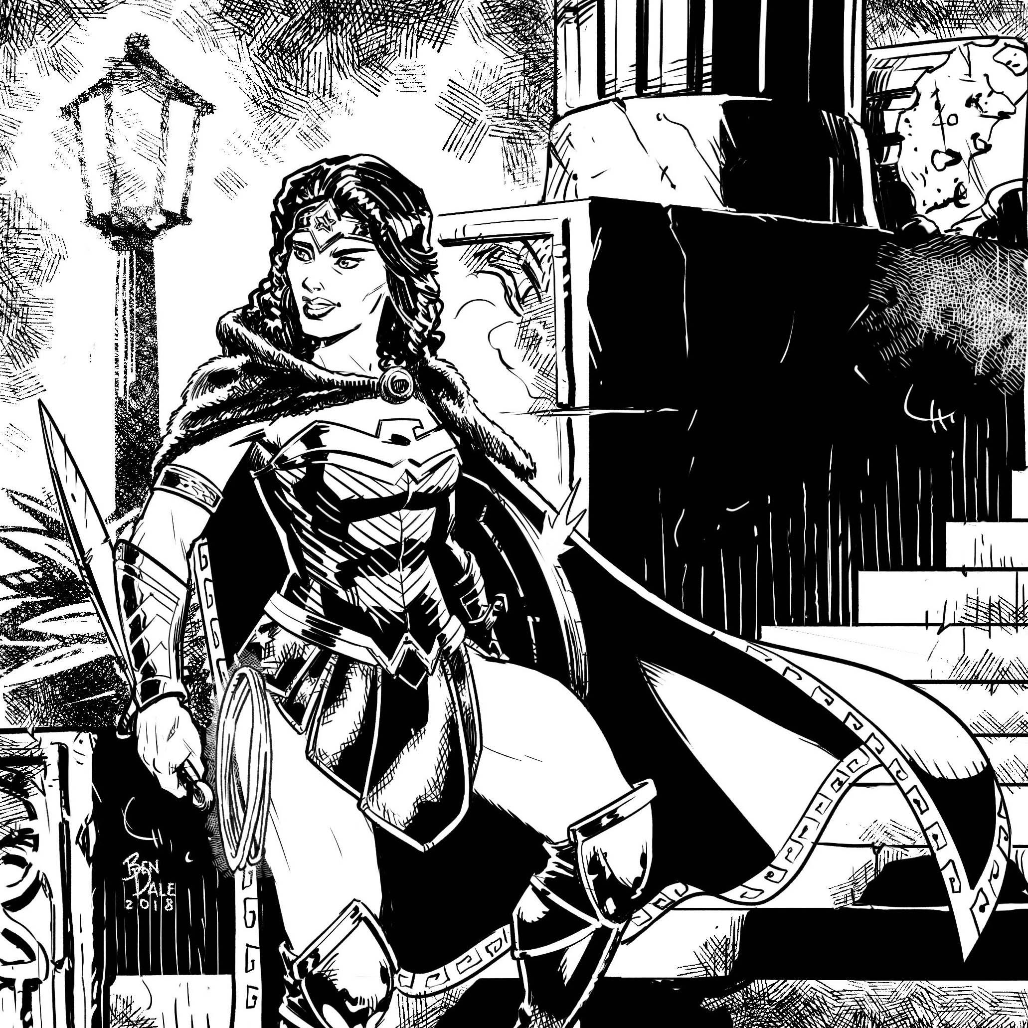 Instagram Wonder Woman