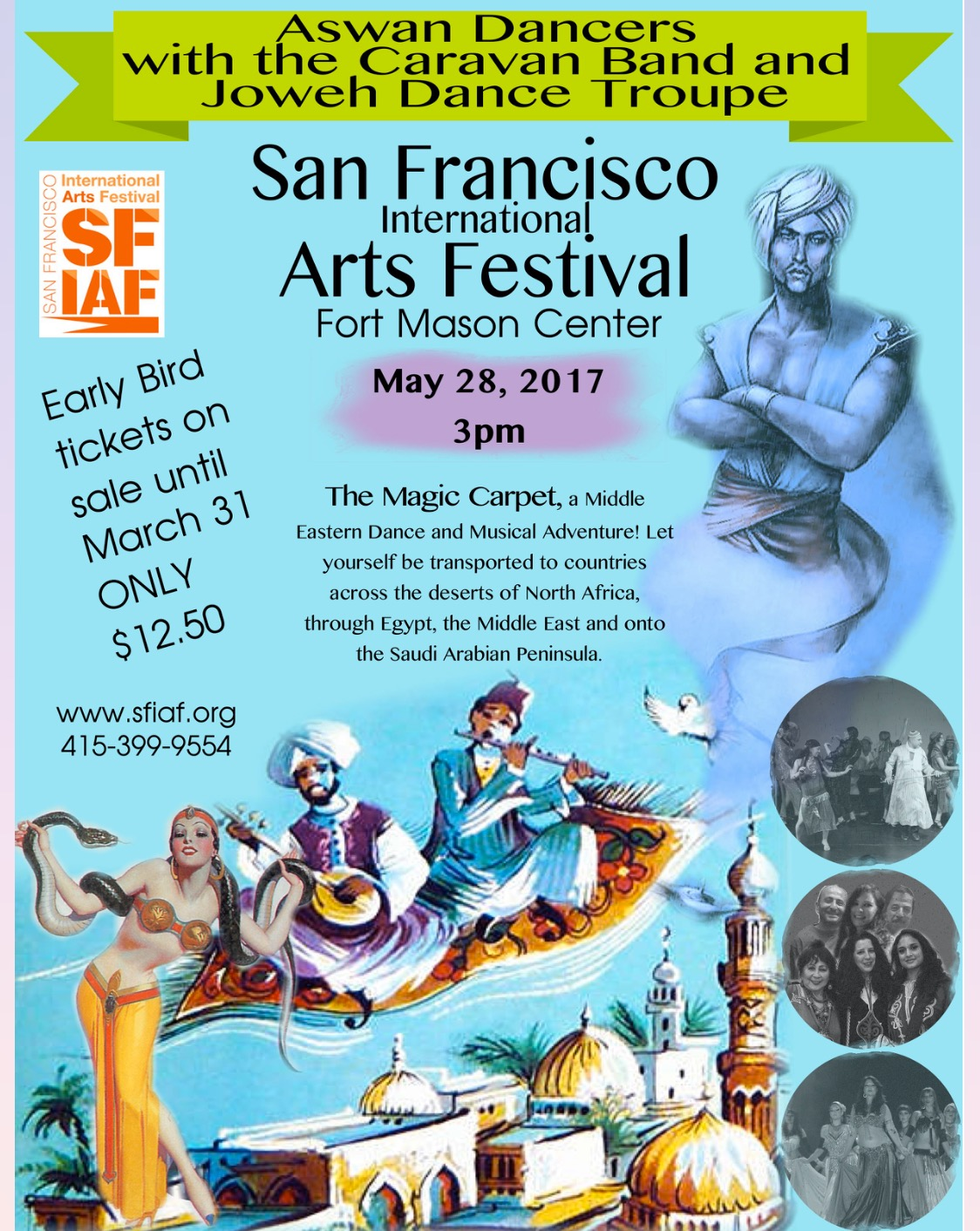 The Magic Carpet of the SFIAF Fort Mason