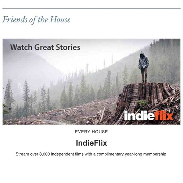 So excited to be included in the August newsletter for @sohohouse !! @indieflixceo @indieflix #sohohouse #movies #partnership