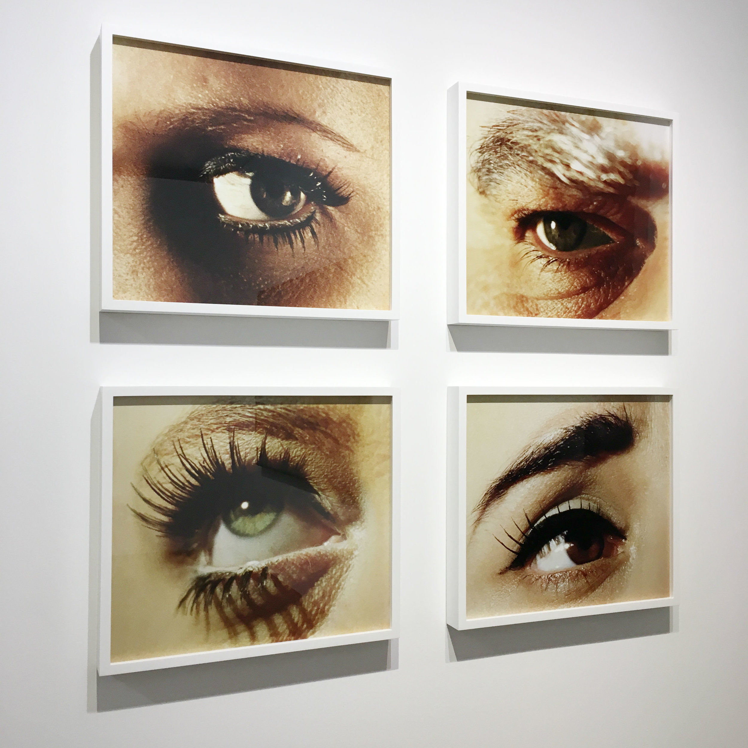 From an exhibition of Alex Prager's work at the Photographer's Gallery in London.