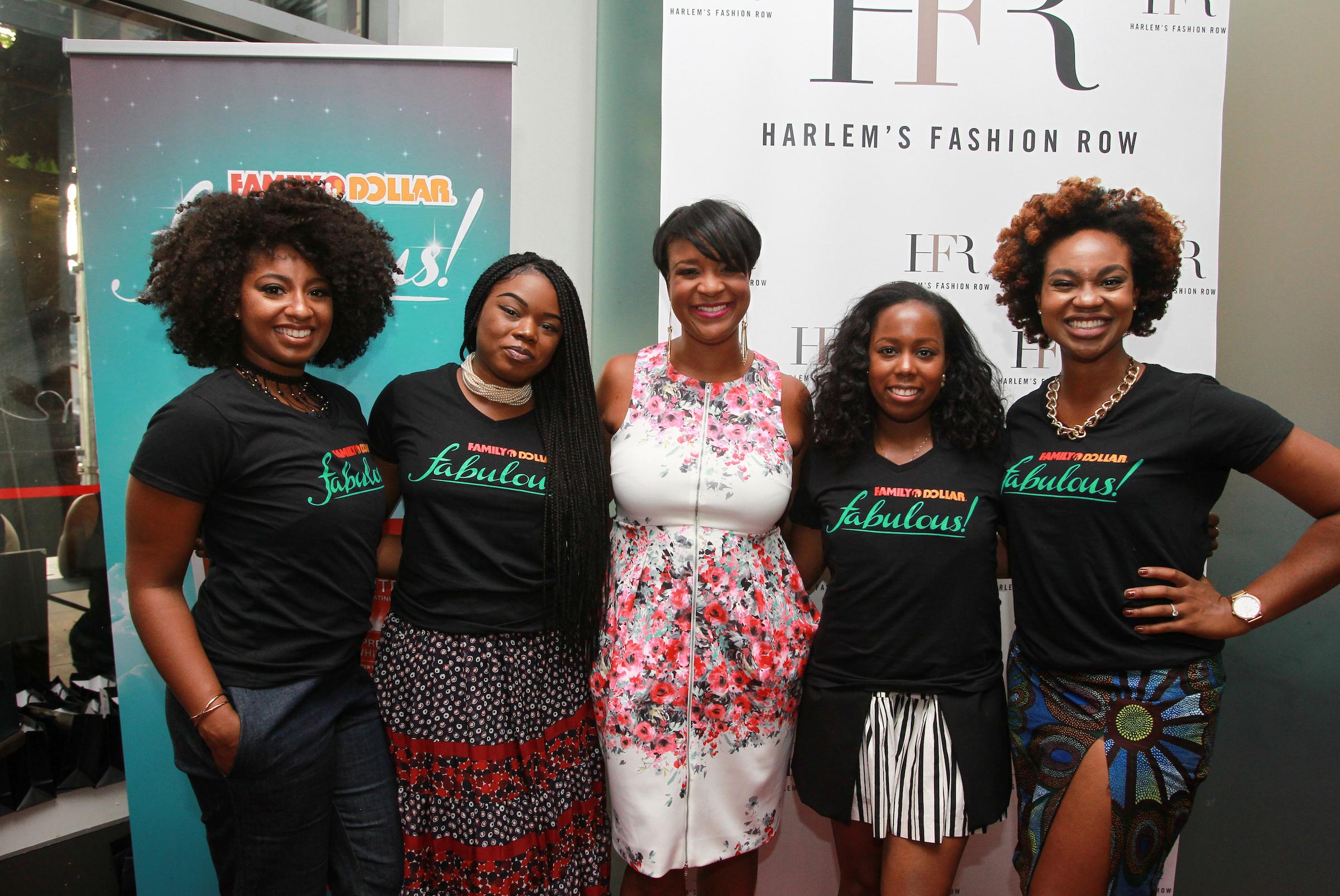 HFR Founder Brandice with myself and Influencer Micaela @Micaelaverelien Jacqueline @livelovelaurean and Ijeoma @KlassyKinks