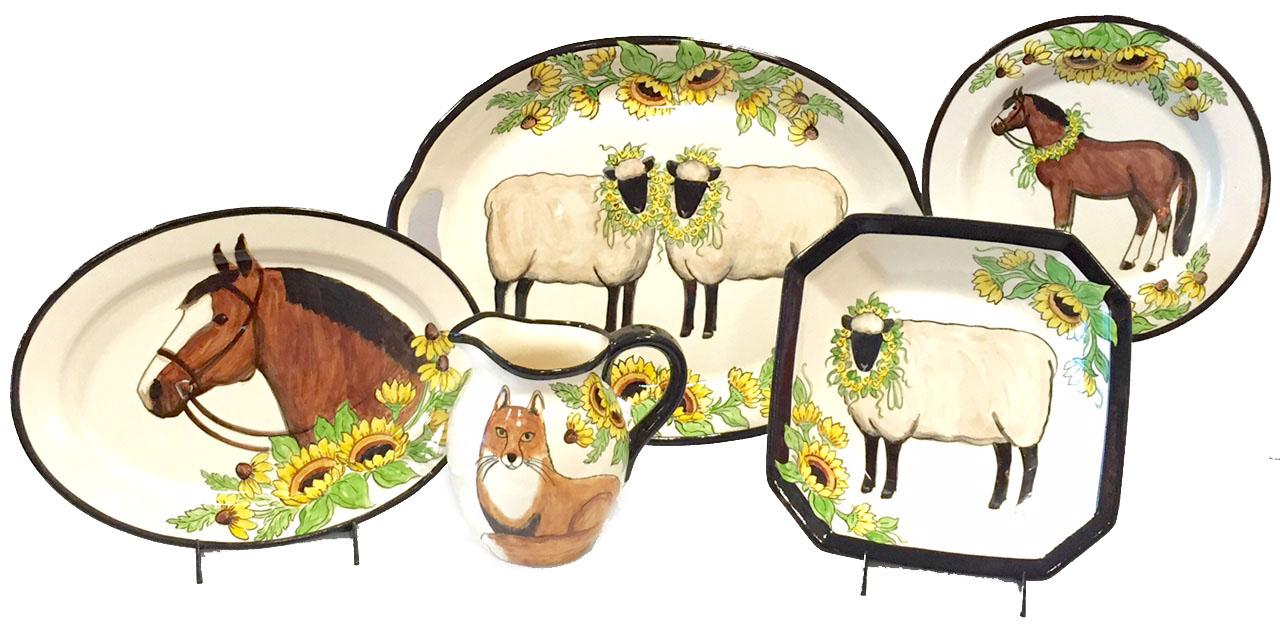 White Farm Animal Collection