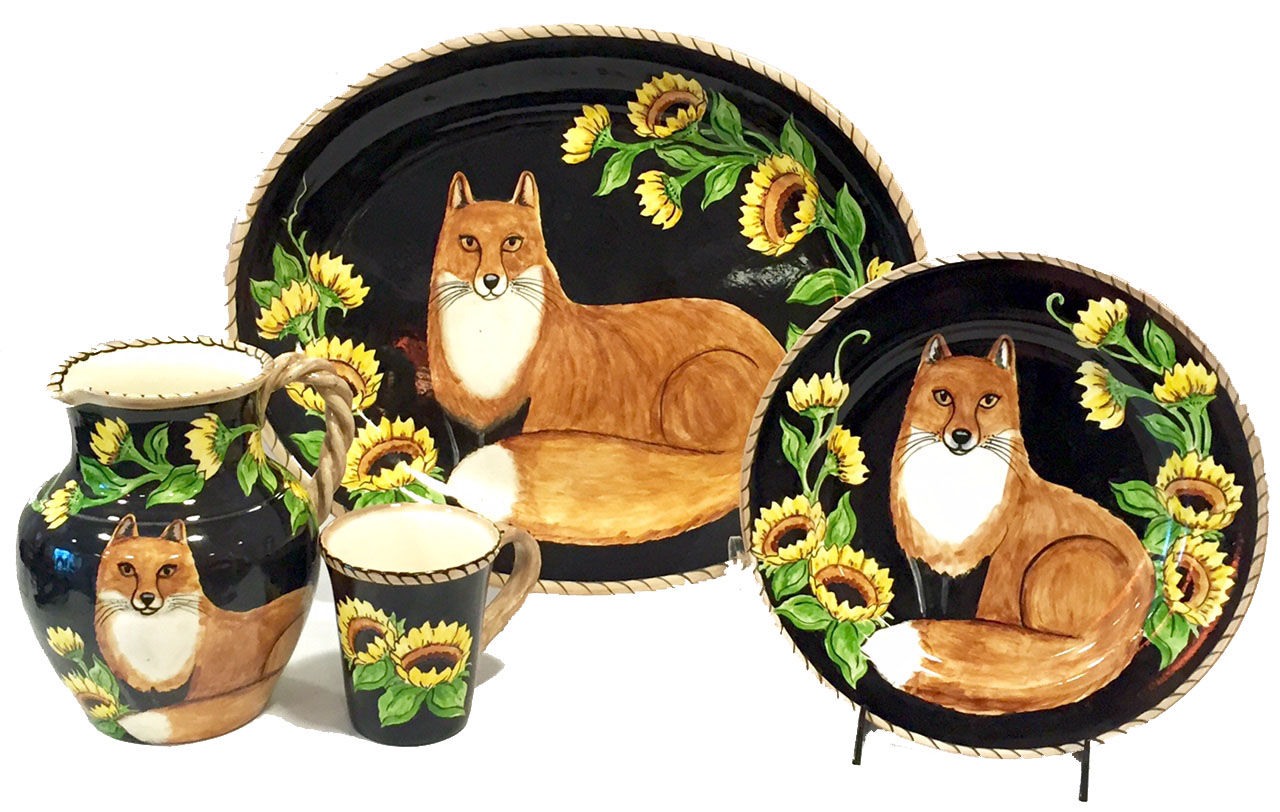 Fox & Floral Collection