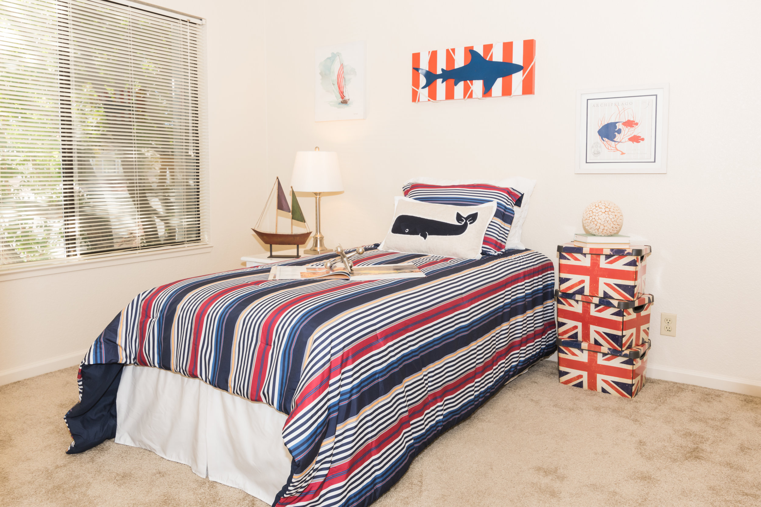 Second Bedroom in Rental Townhome