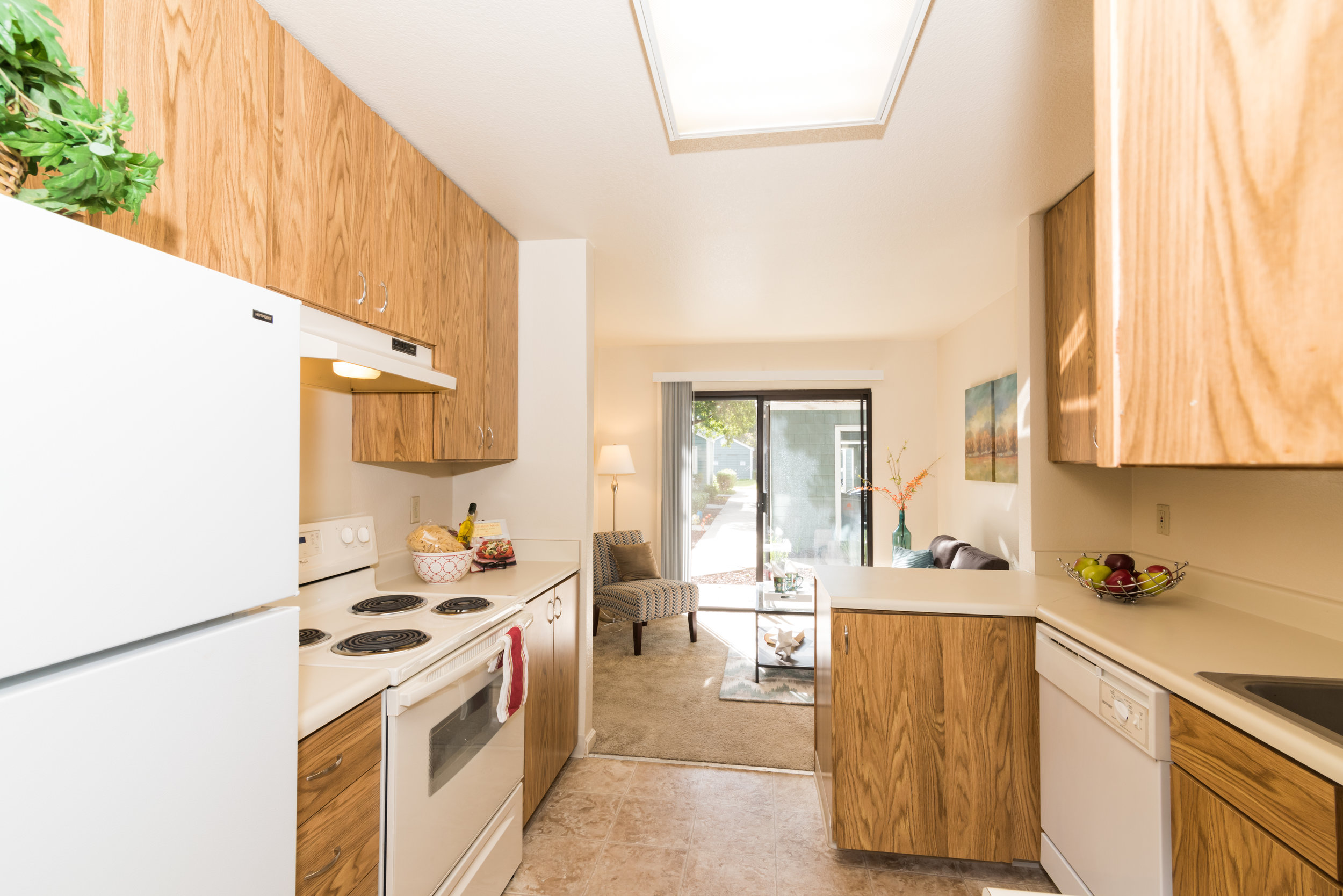 Kitchen in Rental Townhome