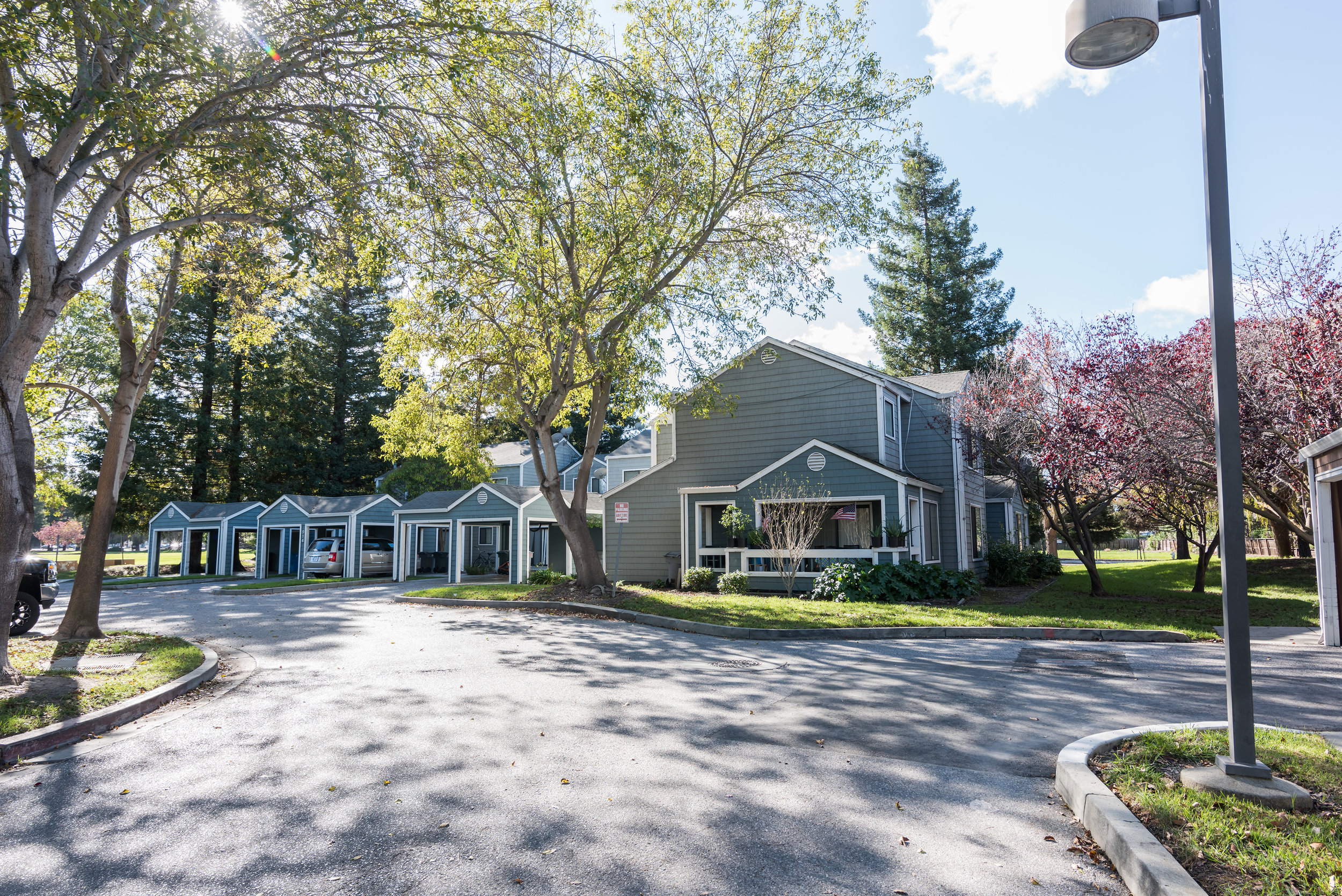 Rental Townhomes and Covered Parking