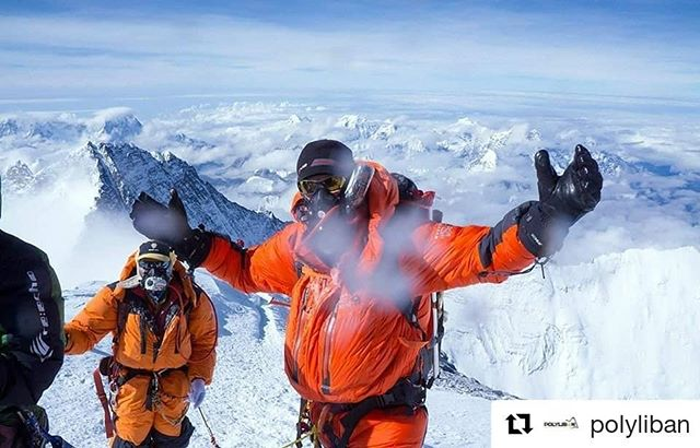 Congratulations @avediskalpaklian for making it to the summit of Mt Everest! • #Repost @polyliban (@get_repost) ・・・ A glorious day for Lebanese Mountaineering, a glorious day to all of the Lebanese mountaineers who finished climbing EVEREST successfully, and to our dear champion @avediskalpaklian (aka AVO), one of Polyliban's founding members who made it to the very top of the world earlier today! what an inspiration! ——————————————— Proud of all of you @ralphkisso , @joyceazzam7s @mountaingipsy @nellyattar @eliasaikaly ! Thank you for raising the Lebanese Flag on the highest mountain in the world. ——————————————— #mountains #everest #challenge #champion #topoftheworld #polyliban #achievement #climbing #snow #mounteverest #instagood #livelovebeirut #livelovelebanon #proud #amazing #lebanese #beirut #lebanon #instamood #mountaineering #mountainlover #lebanesemountaineer #climbingworldwide #alpinism #whitemountaineering #climbing_lovers