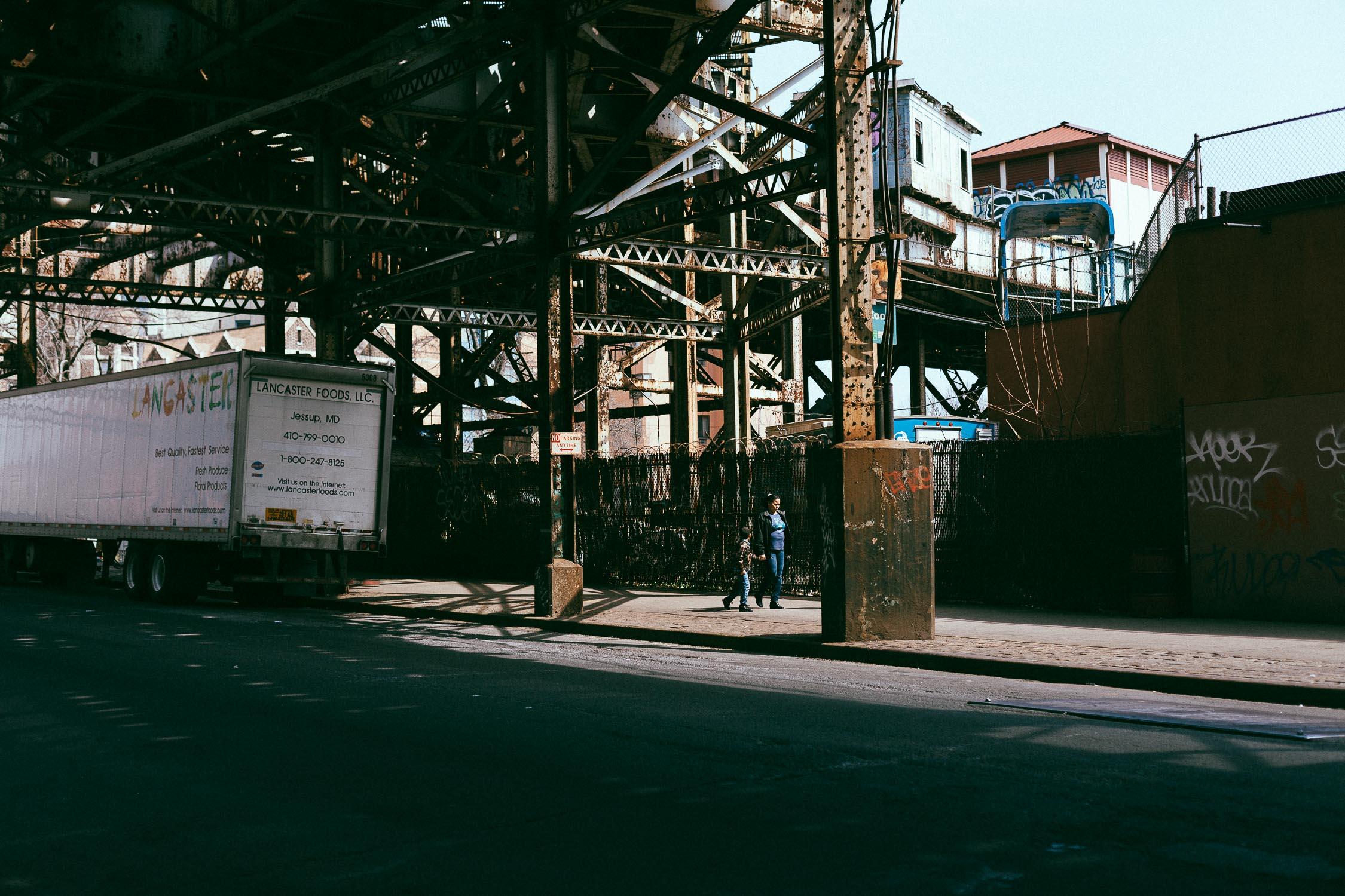 bronx new york subway station street photography