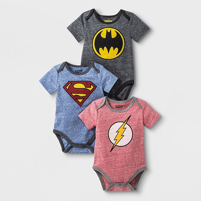 🚨ATTENTION ALL DC COMIC FANS🚨 Get our Batman, Superman and Flash bodysuit 3 pack for your little superhero while it's still hot! Now being sold in Target, click the link in our bio to purchase. 🦇👊🏻⚡️#dccomics #dcsuperheroes #batman #superman #flash #infant #baby #babyboy #babyclothes #onesies #babyclothing #childrenswear #apparel #clothing #kidsstyle #style #fashion #fashiontrends #trends #fashionkids #fashionkidsoftheday #fashionkidsofinstagram #ootd #momlife #momswithkids #momsofinstagram