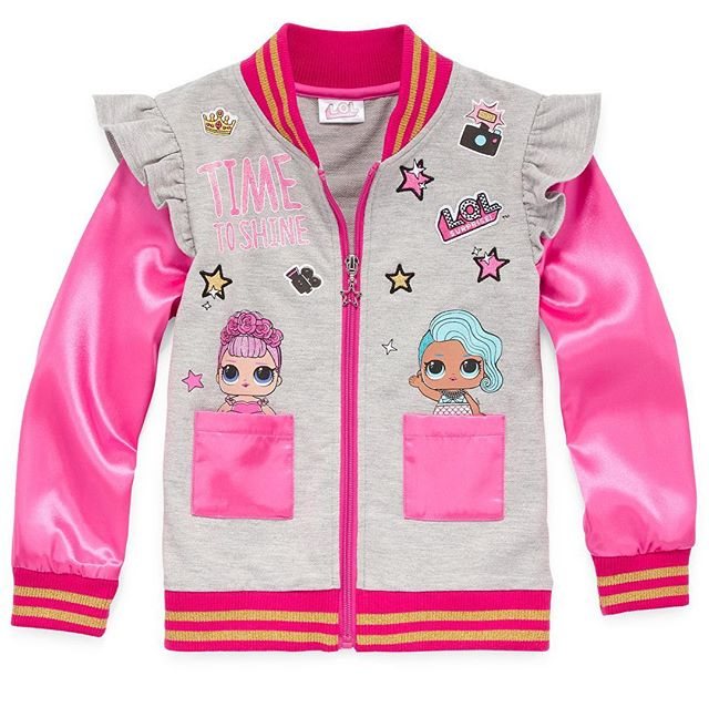 HEY BAE! Check out all our LOL Surprise Dolls pieces now from JCPenney. Click the link in our bio to purchase. #loldolls  #lolsurprisedolls #mgaentertainment #biggirl #bigkid #bomberjacket #jacket #leggings #fashiontop #fashiontops #tops #dresses #dress #clothing #apparel #childrenswear #kids #kiddstyle #style #trends #fashion #fashionkids #fashiontrends #fashionkidsoftheday #fashionkidsoftheworld #fashionkidsofinstagram #momlife #momswithkids #momsofinstagram #fashionmoms