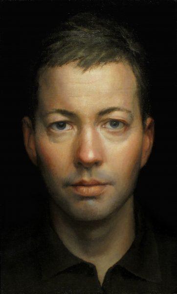 Self Portrait, 2010, oil on linen