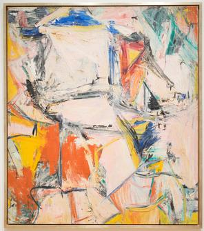 Willem de Kooning, Interchange, 1955, oil on canvas