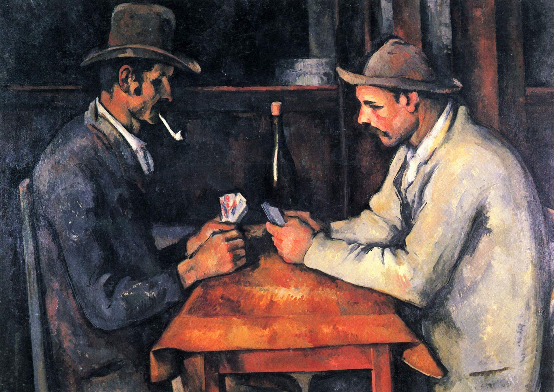 Paul Cézanne. The Card Players, 1892-1893, oil on canvas