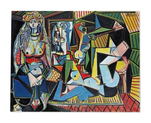 Pablo Picasso, Les Femmes d'Alger , Version 'O' , 1955, oil on canvas