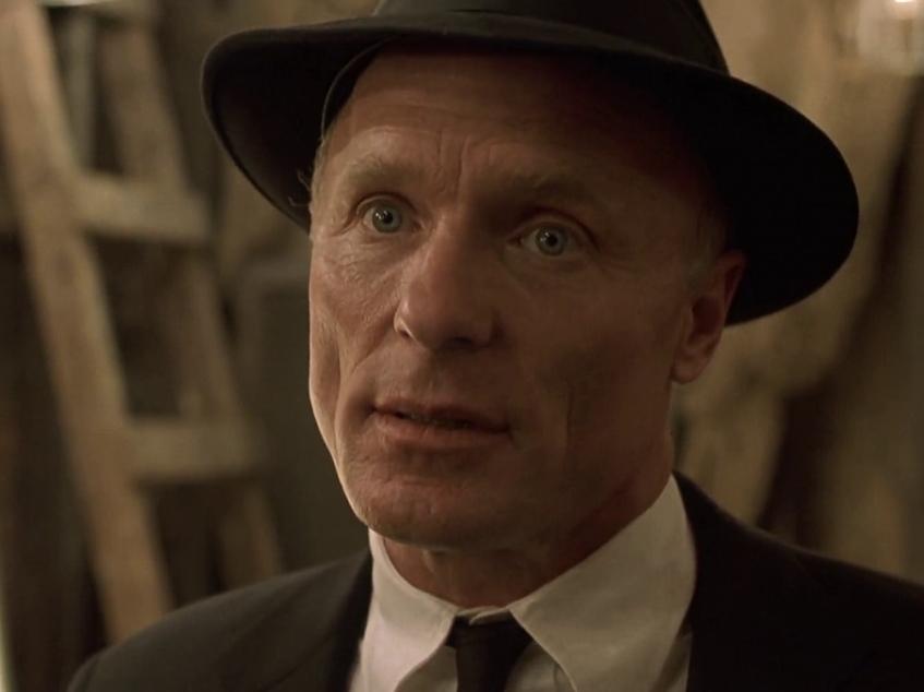 Ed Harris as Parcher in A Beautiful Mind (2001)