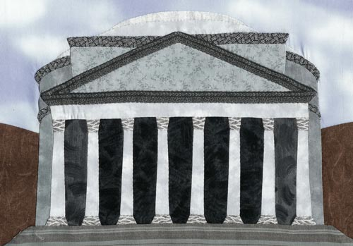 """Pantheon,"" created in the ""If I Were a Carpenter"" workshop."