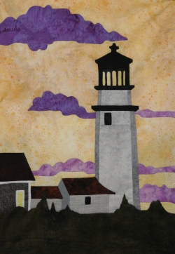 """Lighthouse"" from the  Changing Direction  workshop."