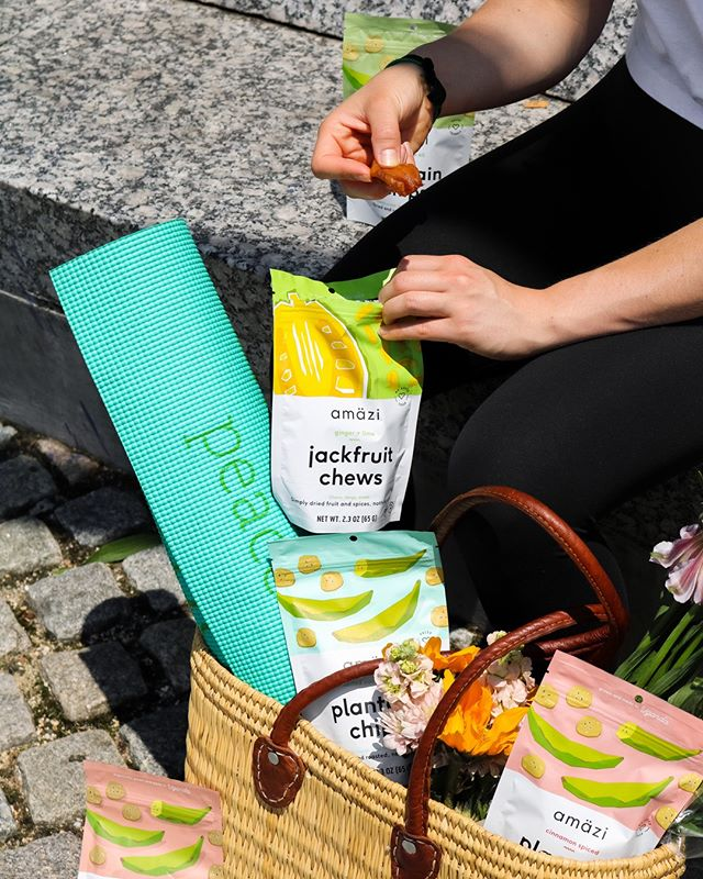 Snacks, yoga, and flowers 🌸🌸 what else do you really need?⠀⠀⠀⠀⠀⠀⠀⠀⠀ ⠀⠀⠀⠀⠀⠀⠀⠀⠀ Stock up on jackfruit chews and plantain chips on #amazon and get these fruit gems delivered straight to your door! 🍌🍌🍌⠀⠀⠀⠀⠀⠀⠀⠀⠀ ⠀⠀⠀⠀⠀⠀⠀⠀⠀ #amazonsnacks #paleo #healthysnacks #plantainchips #jackfruit