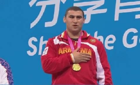 Weightlifter Andranik Karapetyan