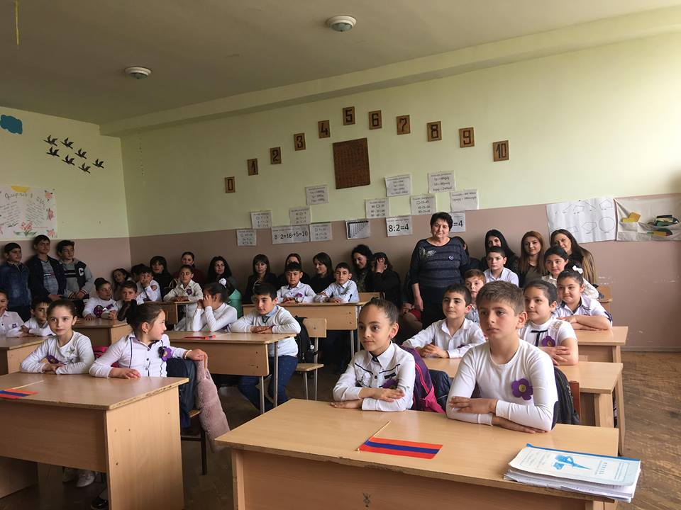 A classroom in 2019
