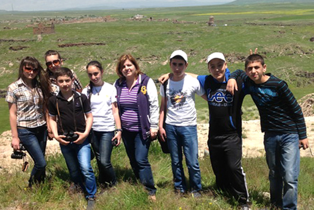 Excursion to see the ruins of Ani in June