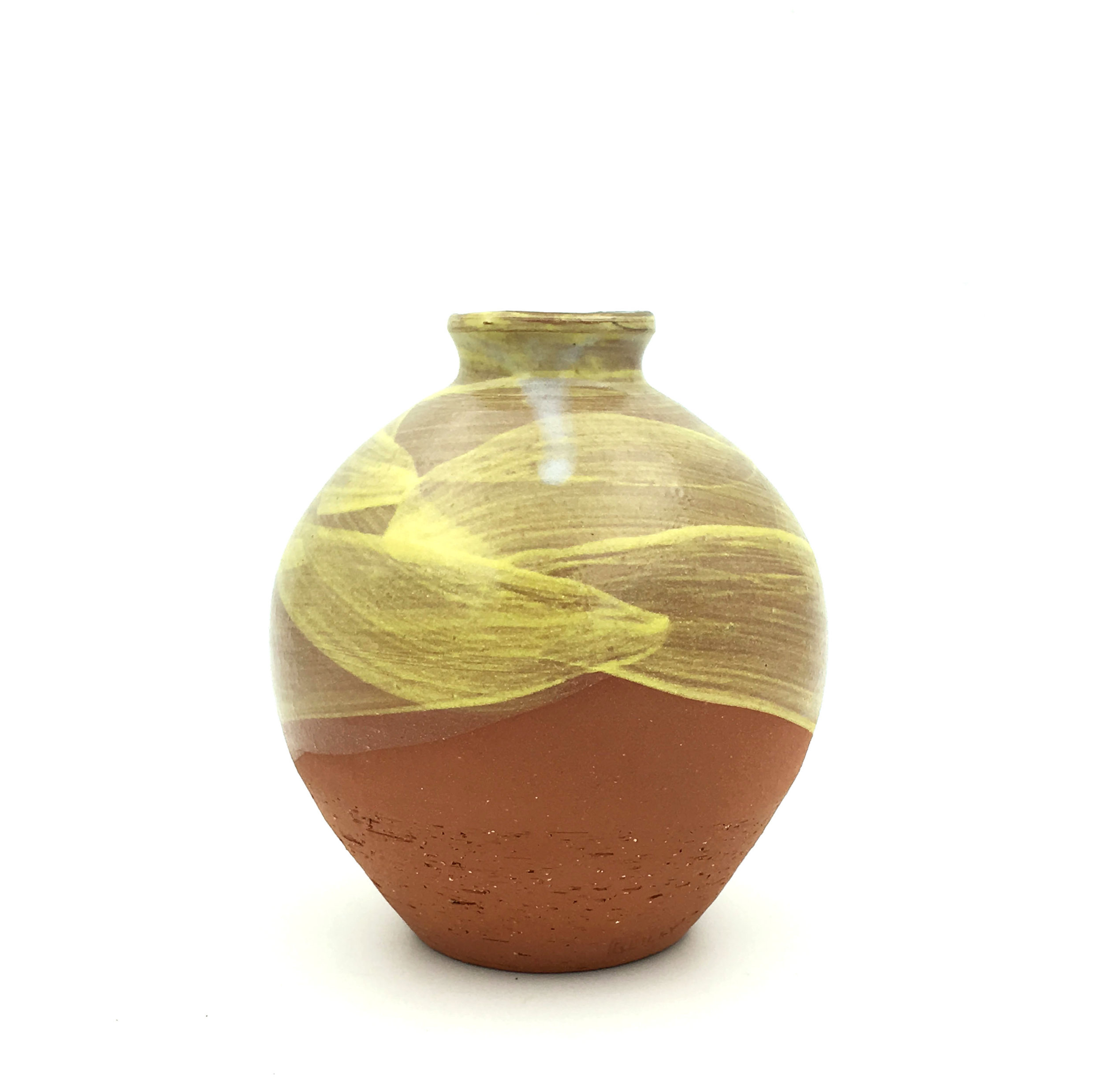 Bud Vase , earthenware with gold luster, 2017