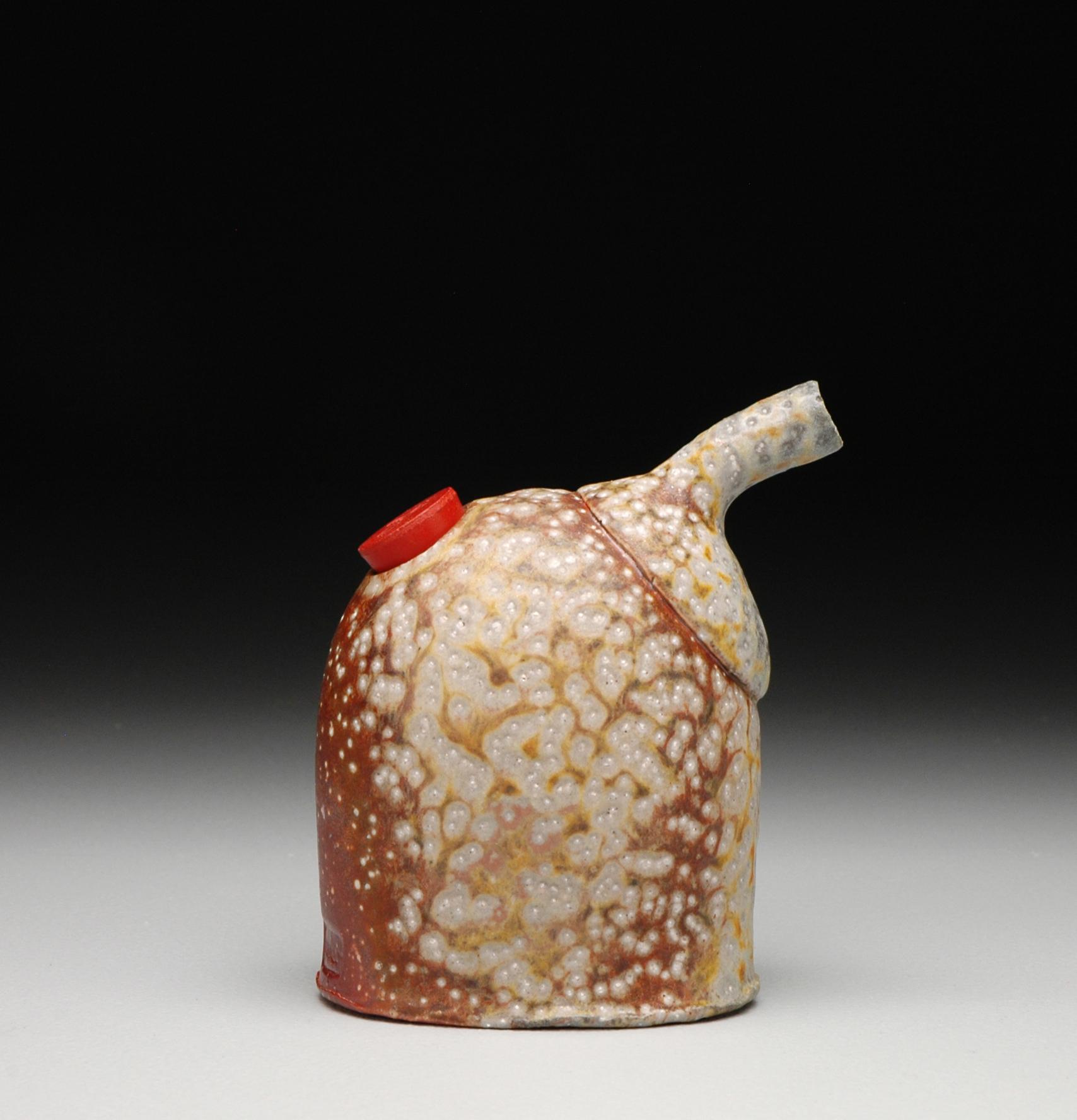 Pourer , soda fired stoneware, 2012