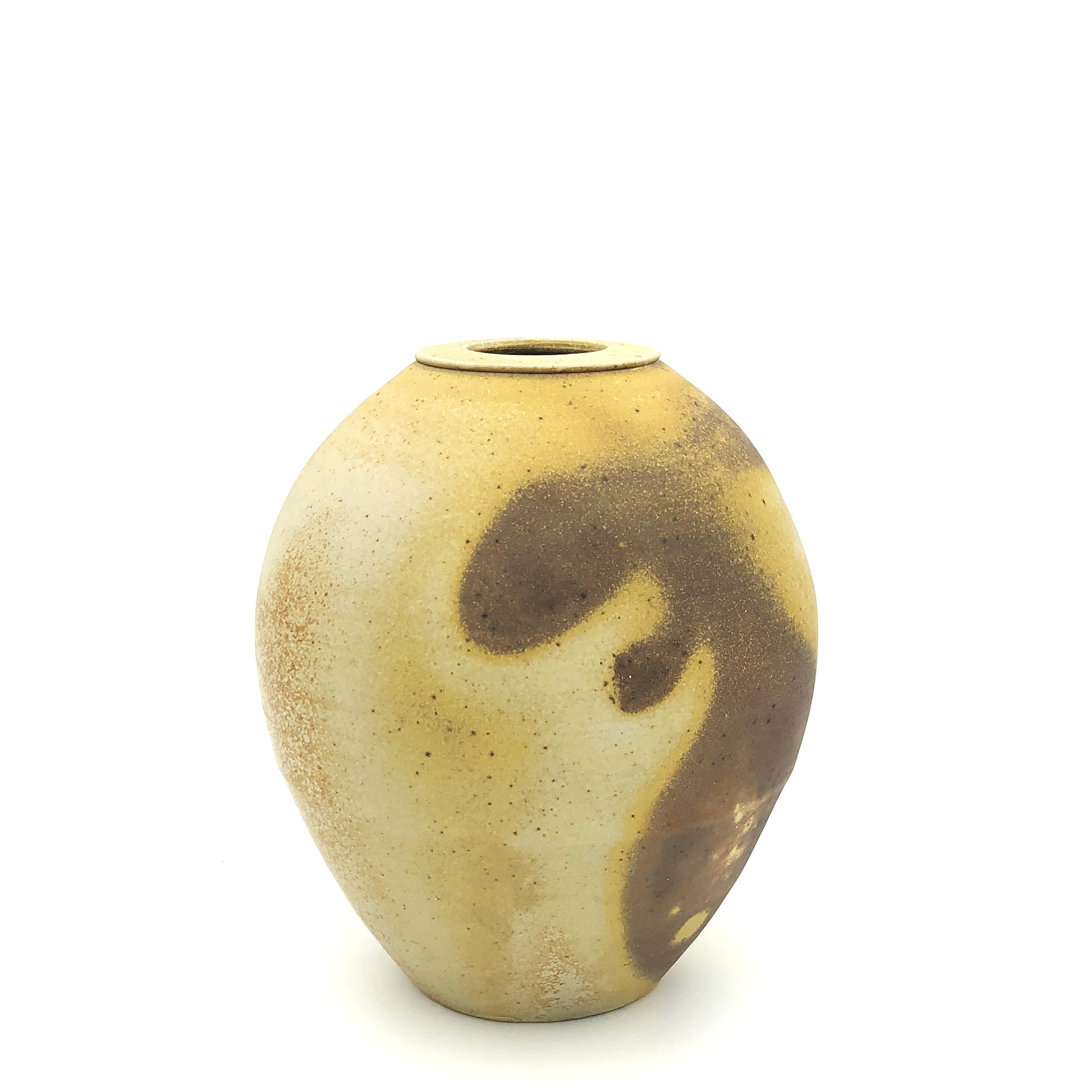 Small Vase,  soda fired stoneware, 2018