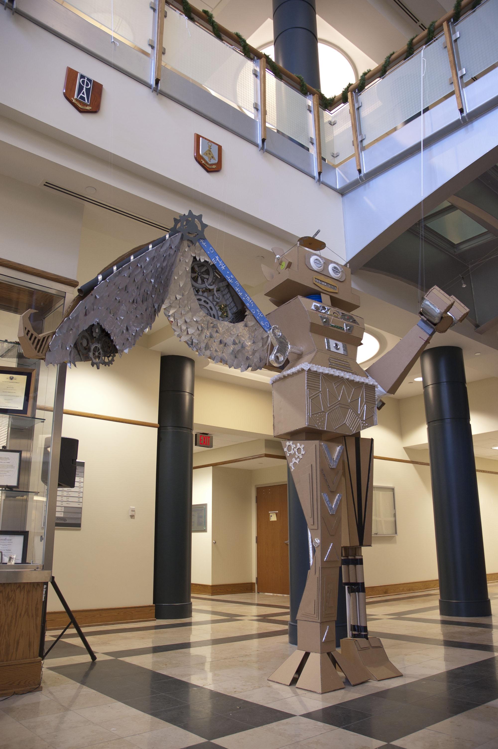 Three-Dimensional Design, Collaborative Figurative Project