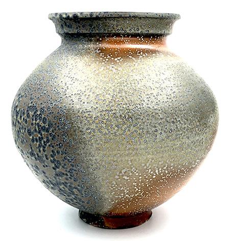 Jar , soda fired stoneware, 2019