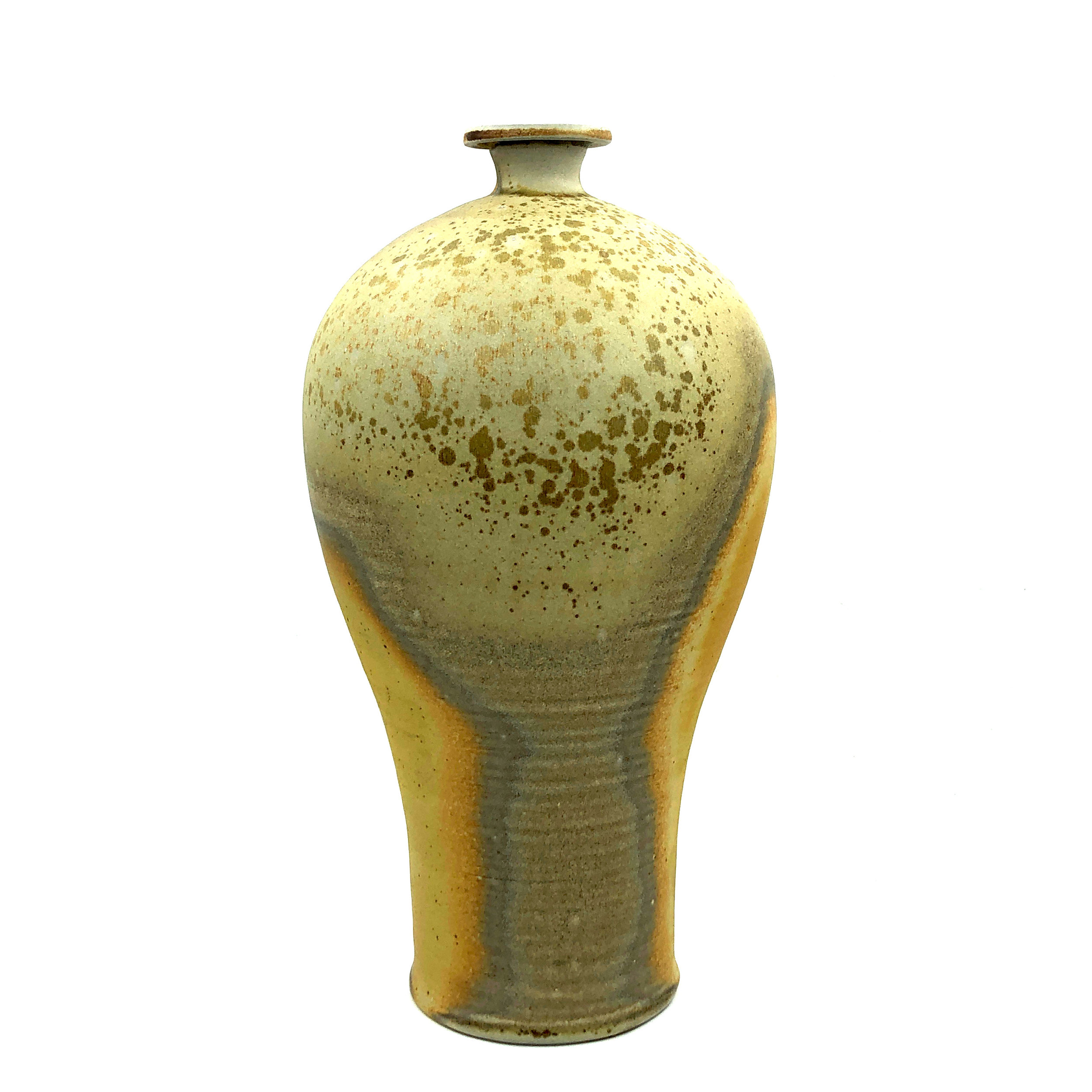Vase,  soda fired stoneware, 2019